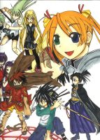Negima Collage for JFC contest by sigara-son-kun