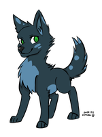 Wolf adopt #2 CLOSED by Harmonic-Adopts