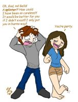 Edward and Bella in a Nutshell by Candy-Janney
