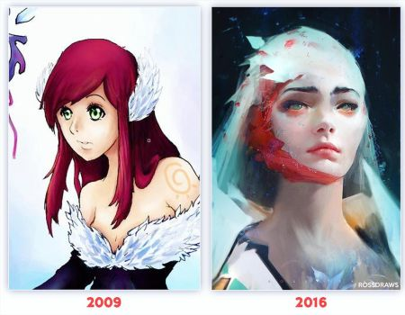 7 years by rossdraws