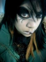 visual kei make up2 by miafaye