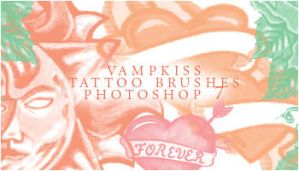 Tattoo Brushes by vamp-kiss