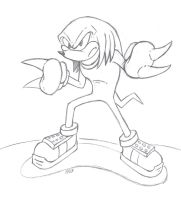 Knuckles by Phycosmiley