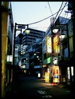 Chibuya by morning by t-drom