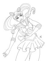 Sailor Chibimoon by SChappell