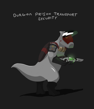 Durgon Prison Transport Security (Lilo and Stitch) by captaincuttlefish