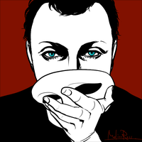 Gareth with mask by molicoross