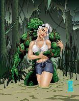 SwampThing and Abbey by Soulgem01