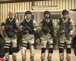1st SFOD-D operators on group photo by MarineACU