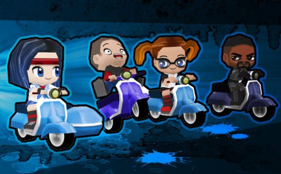 Update4: Scooters by BuddyPoke