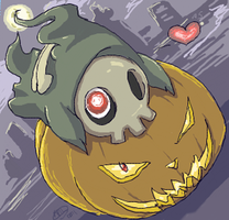 Punkin Love by nomers-sushi