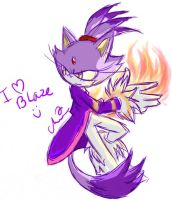 Sketchy Blaze by Shadette