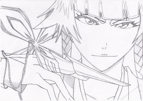 Soi Fon sketch by jessie101695