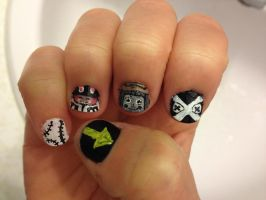 Soul Eater Nails [1] by imagineBeyondReality