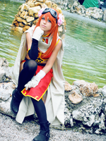 Gintama: Kagura cosplay - 2 by SnowHaze