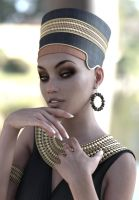 Rebeca, the beauty of the Nile 3 by BestmanPi