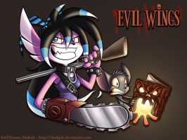 -Evil Wings- by ZombiDJ