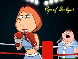 Lois Boxing Heat! by Juliannb4