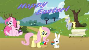 Happy Easter Everypony! by DJBrony24