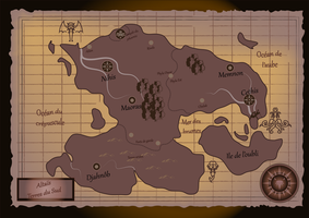 Altais South Map by Yueyun