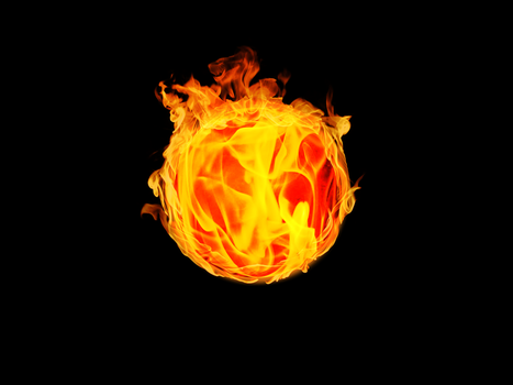 Fire Sphere by Maddy-The-Proxy