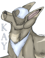 Kay Badge by MorningAfterWolf
