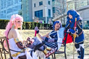 Katsucon 2015 - Fiery Family(PS) 03 by VideoGameStupid