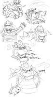 Bowser costume TF by Fighting-Wolf-Fist