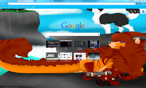 Pure Imagination Google Chrome Theme by FlameWolf101