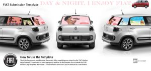 Day and night, I enjoy FIAT! by HindaSart
