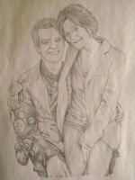 Sarah O and Brendon Urie by Armadeo