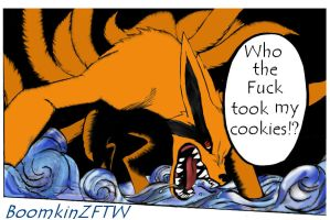 Kyuubi wants his cookies by BoomkinZFTW