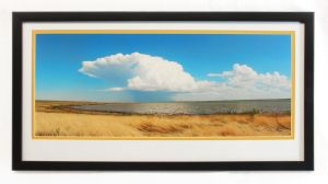 Storm Over Winnipeg Framed Print by Joe-Lynn-Design
