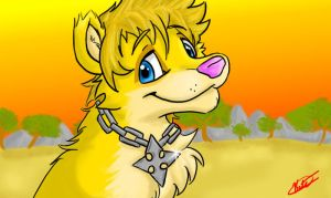 Roxas lion by BakaPup