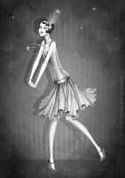 The Flapper Girl by lanitta