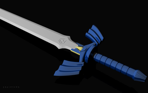 The Master Sword by thekeyofE
