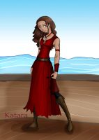 .:Avatar Pirates:. Katara by cursedgnomes