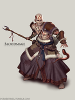 Bloodmage by ForrestImel