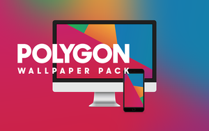 Polygon Wallpaper Pack - Macs and iPhones by prasil