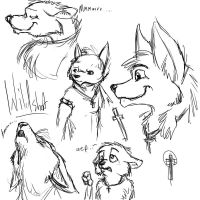 Wildshot Sketches 01 by fabman132