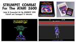 Strumpet Combat 2600 Label And Screenshots. by Atariboy2600
