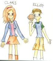 Claris and Elliot Alternative by Magic-Pickle-Fairy