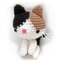 calico cat ami by tinyowlknits