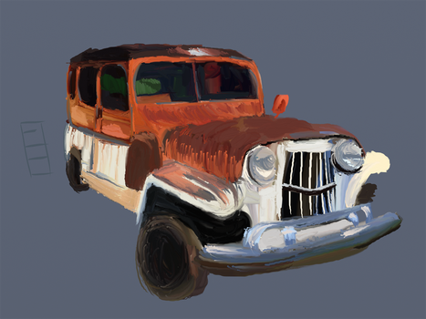 Old Jeep by Shnax