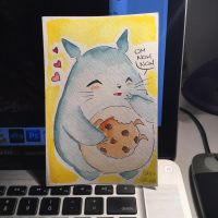 Totoro by ChibiCelina