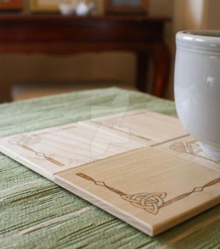 Celtic Knot Coasters by elpdee20