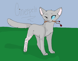 Cinderpelt by PuppyNubs