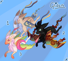 Glider Adoptables - AUCTION OPEN edit: now with p. by Demite