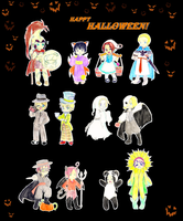 Happy Halloween by pixie-rings