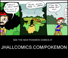 New Comic by JHALLpokemon
